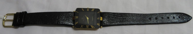 Lot 25 - Raymond Weil 1980's gold plated quartz watch