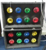 Lot 51 - Disco lights boxed