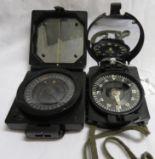 Lot 38 - 2x military compasses