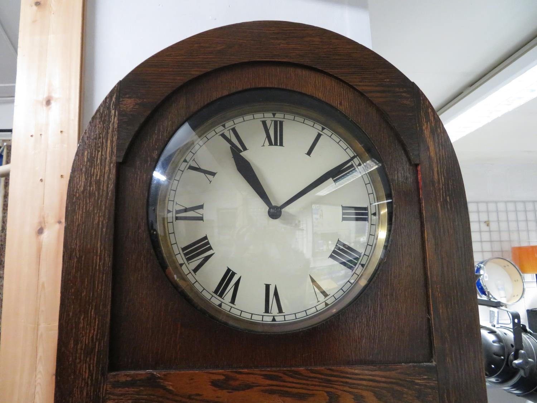 Lot 48 - Three weight 6' Grandfather clock