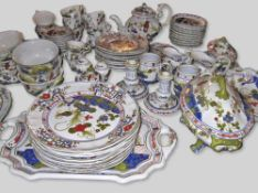 Italian Tableware Partially hand-painted Serves 6 to 8 people 88 pieces
