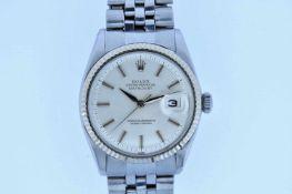 Rolex Rolex Datejust, Ref.1601, Stahl/Stahl, Jubileéband, Automatik, Plexiglas Rolex Rolex Datejust,