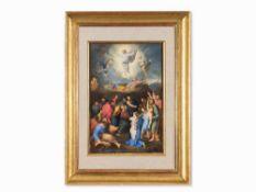 """Nach Raffaels """"Transfiguration"""", Gouache, Italien, 19. Jh. Gouache auf Karton. italienische"""