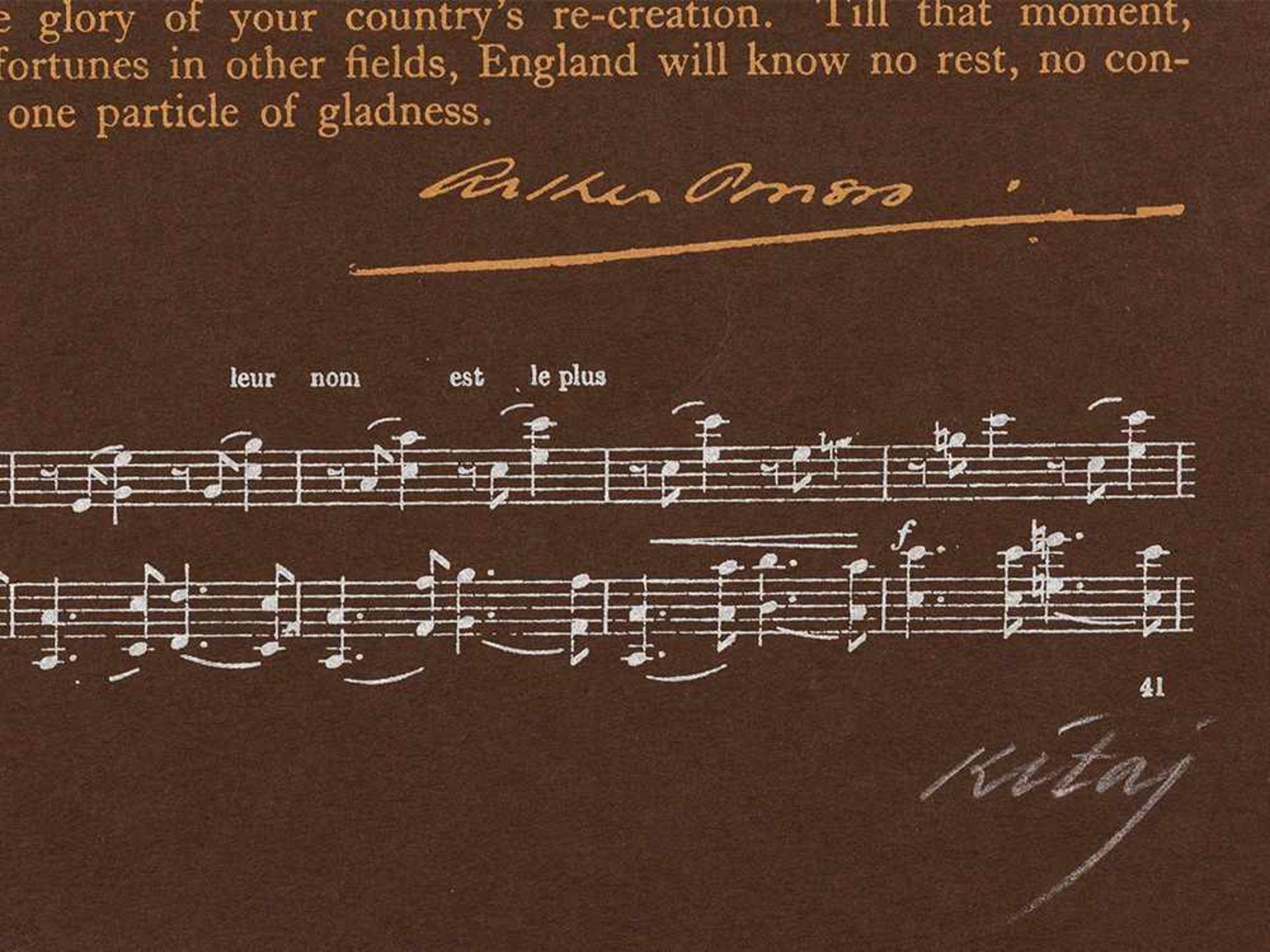Los 76 - R. B. Kitaj, Heart, Farbserigrafie, 1966 Farbserigrafie auf braunem Velin. Großbritannien, 1966.