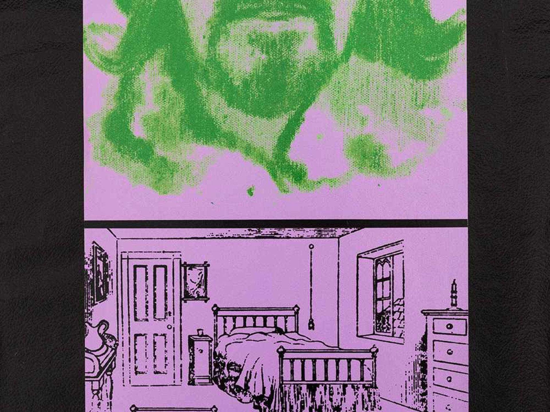 Los 77 - R. B. Kitaj, Hail Thee, Farbserigrafie/Collage, 1970 Farbserigrafie auf unterschiedlichen