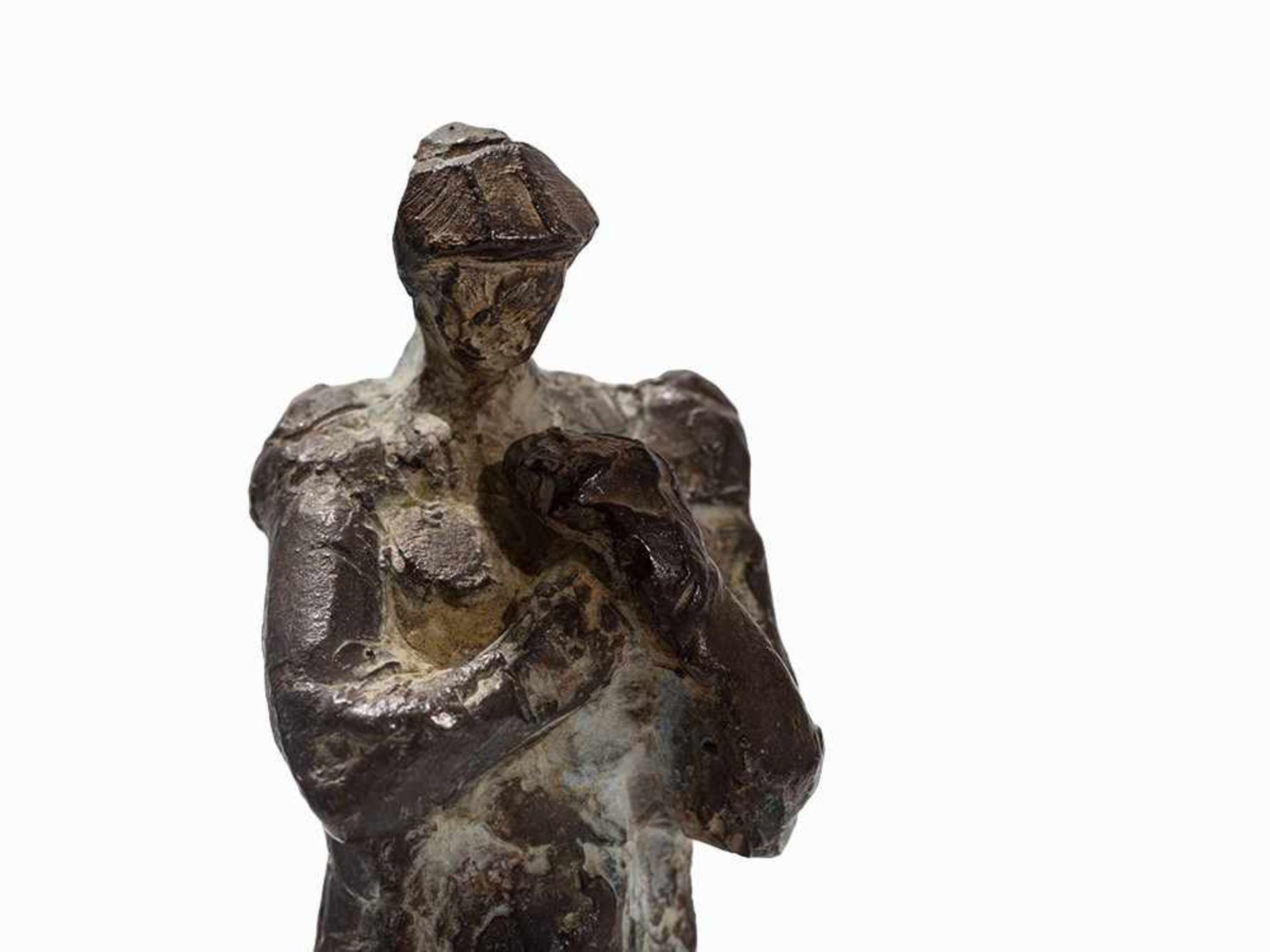 Los 93 - Berndt Wilde (geb. 1946), Schatten, Bronzefigur, 2004 Bronze, schwarz patiniert. Deutschland,