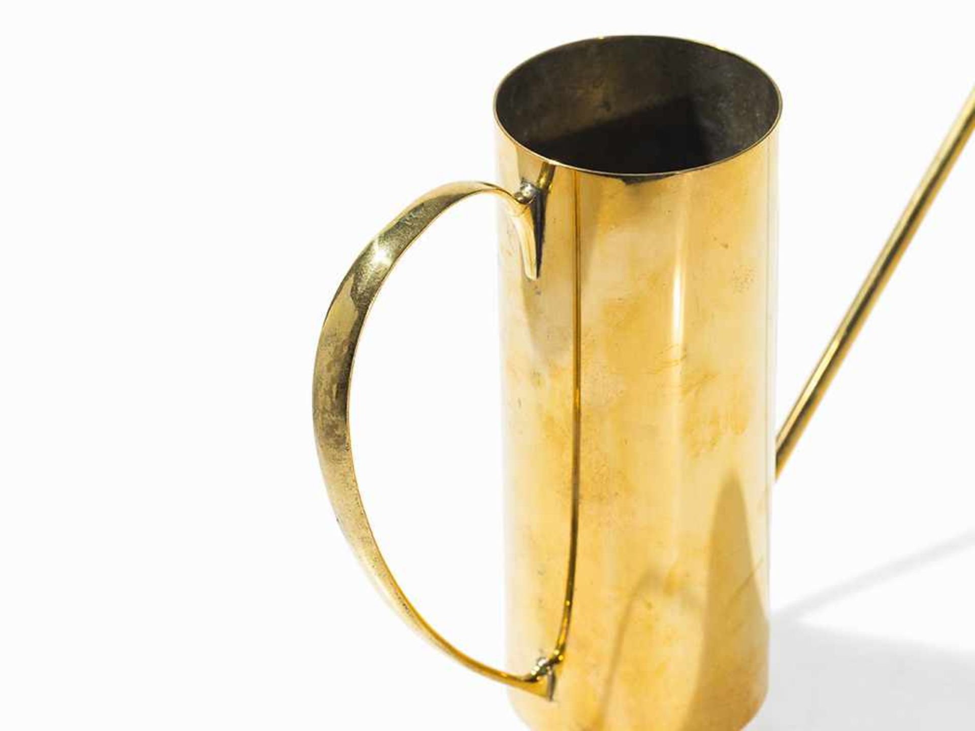 Los 113 - Karl Hagenauer, Watering Can, Austria, 1950s Copper, brass. Vienna, Austria, 1950s. Design: Karl
