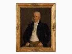 José Garcia Chicano (1775-1858), Porträt eines Herrn, Öl, 1829 Öl auf Leinwand. Spanien, Cádiz,