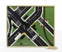Verkehrsverlag Remagen, Fahrschultafel, W.-Germany, 87x100 cm, Funktion ok, kein Versand