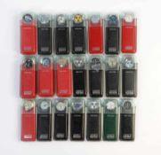 Swatch, 20 Irony Chrono Uhren, Swiss made, OVP, unbenutzte Sammlerstuecke Swatch, 20 Irony Chrono