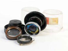 Carl Zeiss u.a.., Pro Tessar 1:4, 35mm, Proxarlinse u.a., gemischter Zustand, bitte besichtigen Carl