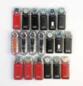 Swatch, 20 Irony Chrono Uhren, Swiss made, OVP, unbenutzte Sammlerstuecke Swatch, 20 Irony Crono