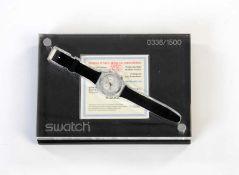 Swatch, Irony Chrono 0366/1500, Swiss made, Box 25x17 cm, Okt Z 1-, Z 1 Swatch, Irony Chrono 0366/