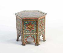 "Huntley + Palmers, Blechdose ""Syrien Table"" von 1904, England, 16,5 cm, min. LM, Z 2 Huntley +"