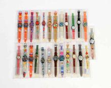 Swatch, 25 Damenuhren, Swiss made, Okt Z 1, Z 1 Swatch, 25 Ladie's Watches, Swiss made, box C 1, C