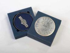Swatch, Irony Rotor, Swiss made, Box 17,5x17,5 cm, Okt Z 1, Z 1 Swatch, Irony Rotor, Swiss made, box