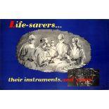 Propaganda Poster Air Force Pilot Safety Doctor Surgeon