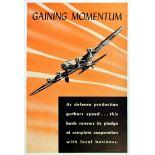 War Poster Gaining Momentum WWII