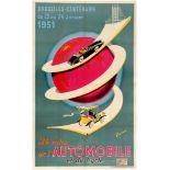 Original Advertising Poster 34 Salon de l'Automobile et du Cycle advertising poster