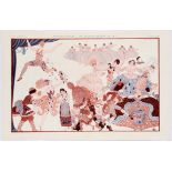 Original Advertising Poster Diaghilev Les Ballets Russes
