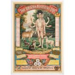 Original Advertising Poster Raja Ravi Varma India Dattatreya