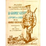War Poster Great War Exhibition WWI Luxembourg