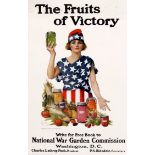 War Poster The Fruits of Victory WWI USA