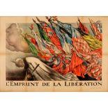 War Poster Liberation Loan WWI Faivre