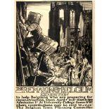 War Poster Remaking of Belgium WWI Brangwyn