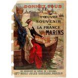 WWI War Poster France Navy Sailor Remembrance