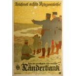 War Poster WWI Germany War Bond