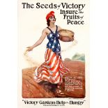 War Poster The Seeds of Victory WWI
