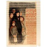 WWI War Poster Belgium Hunger Theophile Steinlen