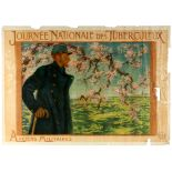 WWI War Poster National Tuberculosis Day France