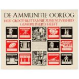 Dutch WWII Propaganda Poster Great Britain Ammunition has mobilized its Industry.