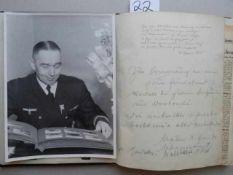Schleswig-Holstein.- Gästebuch des Kapitäns Johannes Schur aus Mölln mit etwa 50 handschriftlichen
