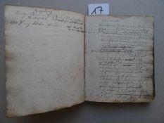 Schleswig-Holstein.- Husberger Brandgilde. 1777 - 1871. Handschriftliches Mitgliederverzeichnis.