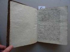 Meteorologie.- Handschriftliche Aufzeichnungen und Abschriften (vermutlich) von dem böhmischen