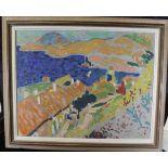 Serigraphie nach André Derain (1880-1954), Paysage de Provence, Frankreich 1950er Jahre,