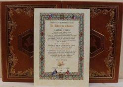 2 Bände Le Livre de chasse von Gaston Fébus, Faksimile, Herausgeber Arts et Couleurs, Monaco 1995,