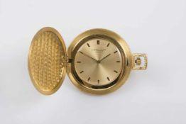 Chopard Frackuhr Gold 750, goldfarbiges Zifferblatt, Durchmesser 42 mm, 42,5 g, keine Garantie auf
