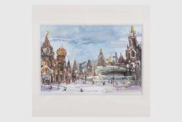 Franz Oberger (Wr.Neustadt 1948) (freischaffender Künstler in Wr.Neustadt), Moskau, Basilius