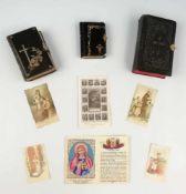 Gebetbücher und AndachtsbilderKleines Gebetbuch für die katholischen Christen, Goldschnitt, in