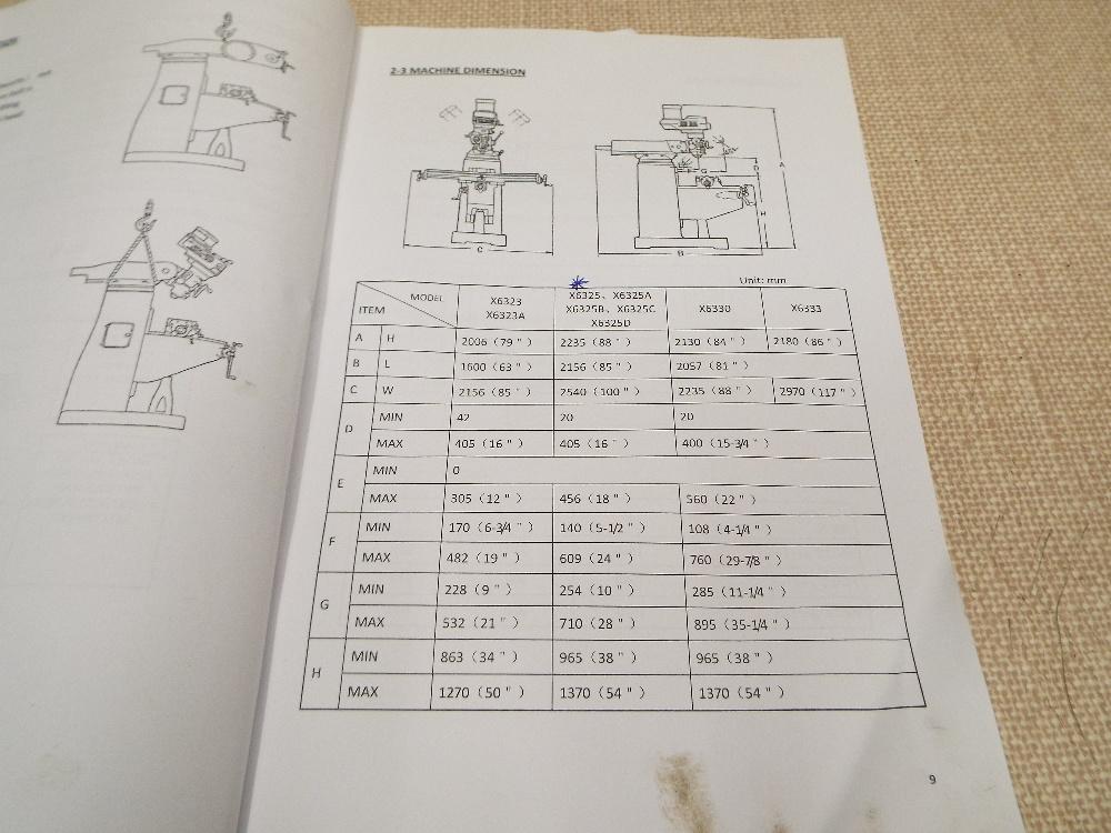 Lot 1e - Vertical Turret Mill