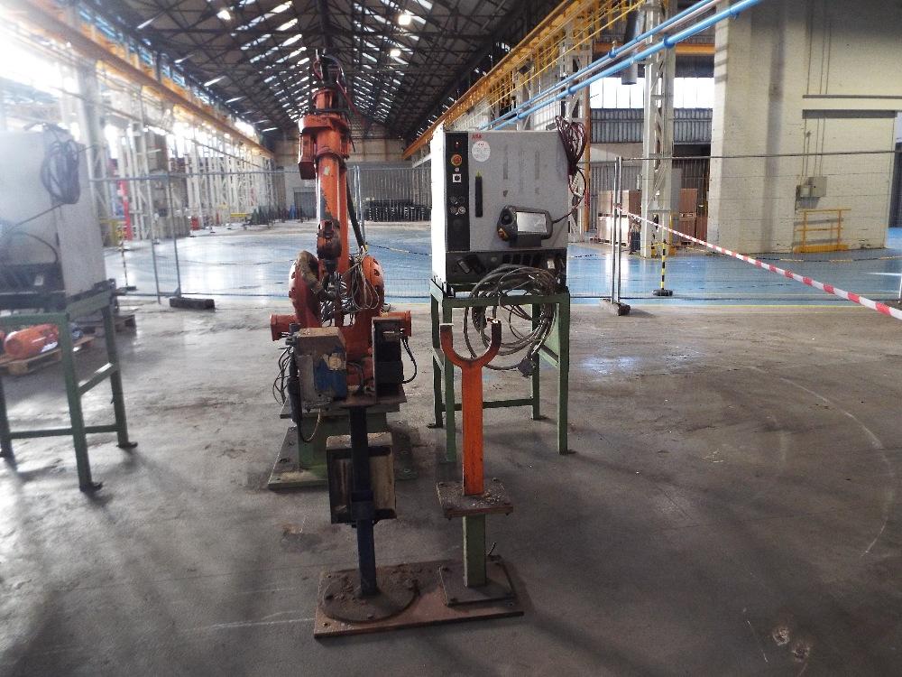 Lot 10 - ABB-IRB-2400L Mig Welding Robot IRC5