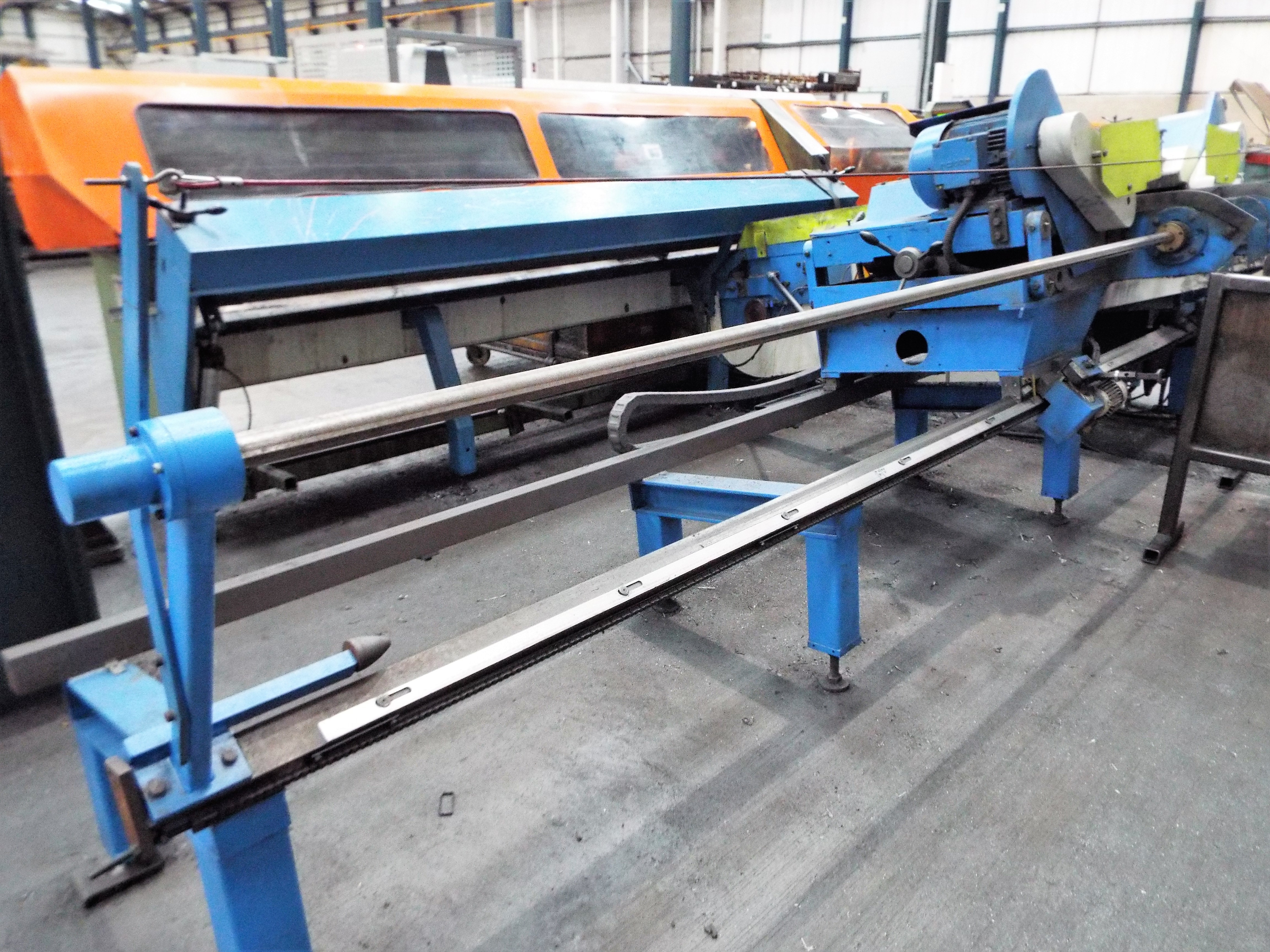 Lot 23a - Bewo DB70 Adjustable Outfeed Conveyor
