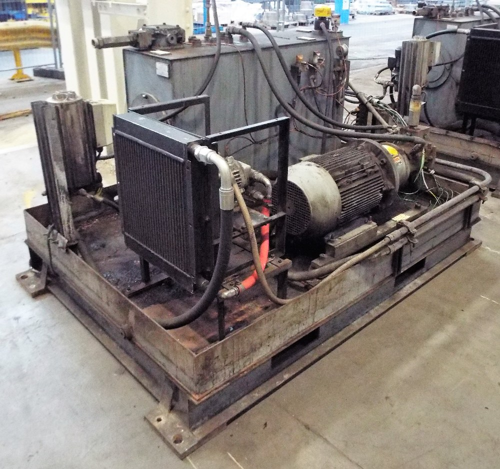 Lot 7 - Skid Mounted Hydraulic Pack