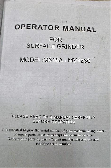 Lot 1c - Odin Surface Grinder
