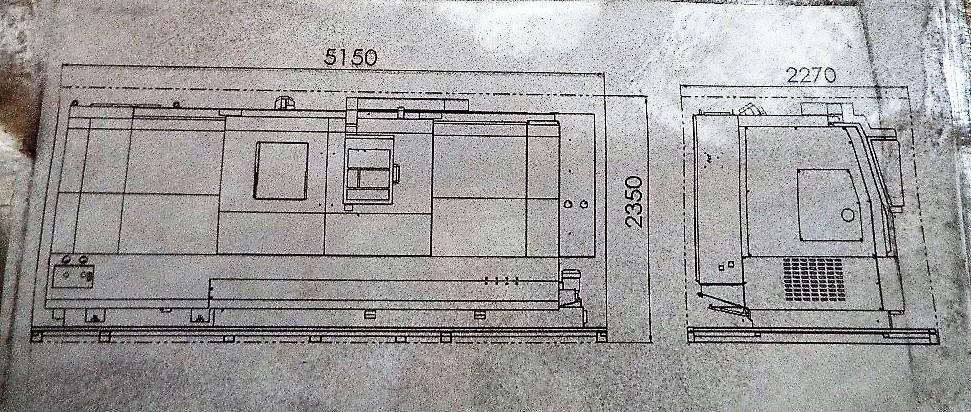 Lot 1f - Odin OD-DL30 Slant Bed Lathe with Fanuc Control