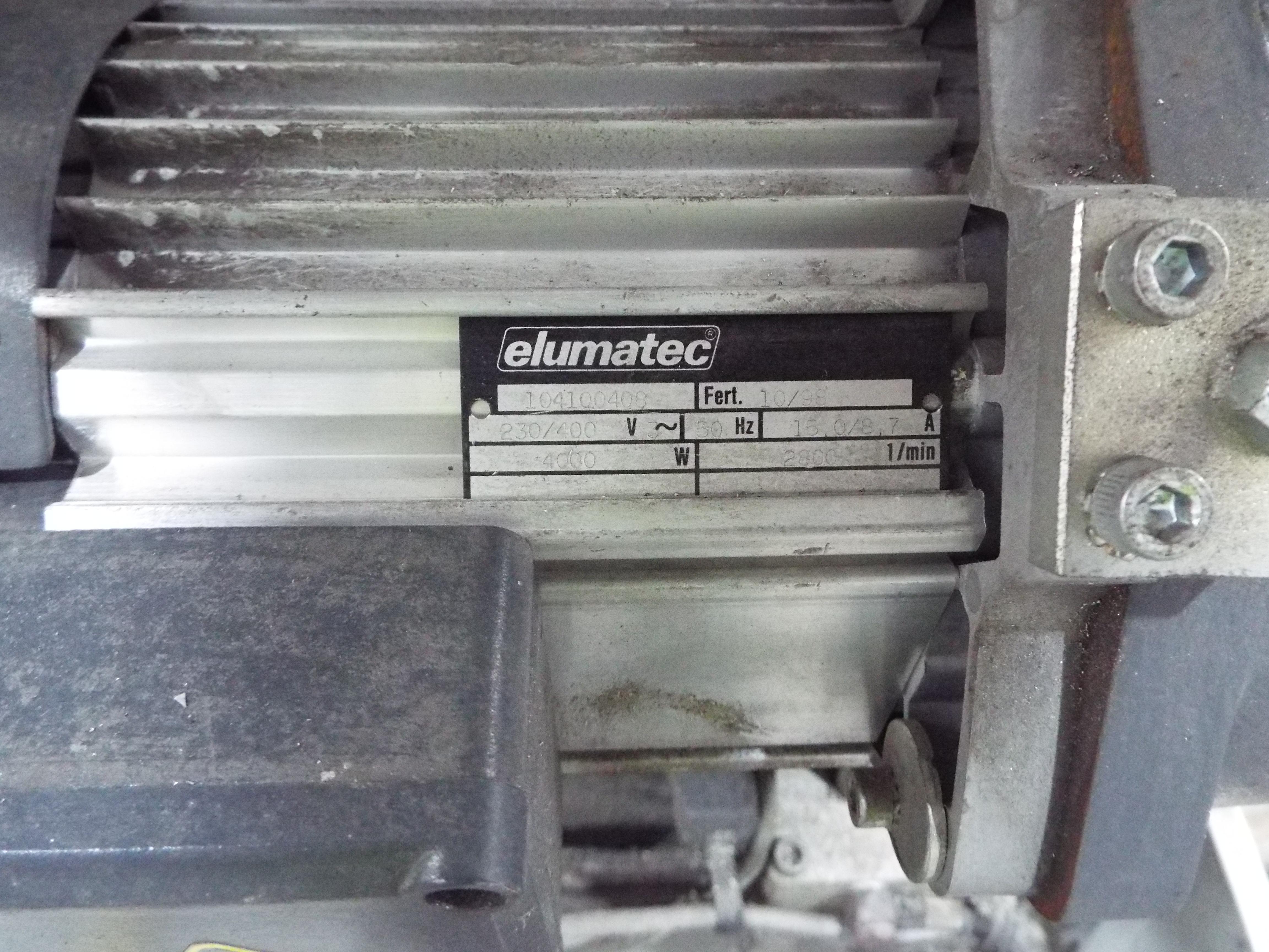 Lot 2 - Elumatec DG142